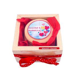 BiscoBOX  DI San Valentino 6 biscotti
