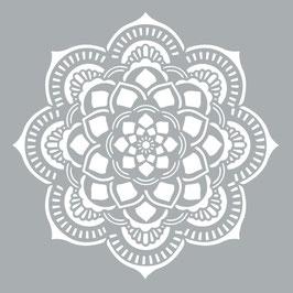 Decoart Mandala Stencil/sjabloon 45,72 x 45,72 cm - kunststof