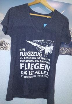 Frauen Supersoft-T-Shirt mit V-Ausschnitt