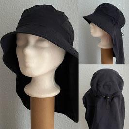 sportliche Segelflieger-Hut mit extra langem Nackenschutz