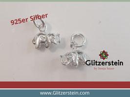 Anhänger Mini Elefant 925 Silber