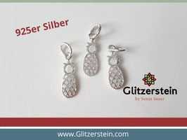 Anhänger Ananas 925 Silber