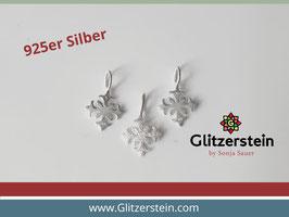Anhänger Mini-Schneeflocke 925 Silber