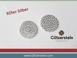 Schmuckverbinder Seed of Life 925 Silber