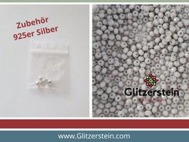 DIY Armband Basic Set Glasperlen 2x3 mm (hellgrau)