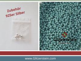 DIY Armband Basic Set Glasperlen 2x3 mm (grün-türkis)
