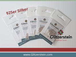 Zusatzperlen Freundschaftsbänder 925 Silber in 3 mm (großes Loch)