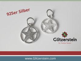 Anhänger Stern 925 Silber