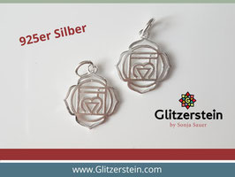 Anhänger 1. Chakra 925 Silber