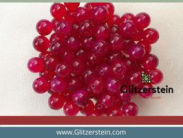 Farbgruppe 08/ Achat Box pink (18 Perlen in 8 mm/ gefärbt)