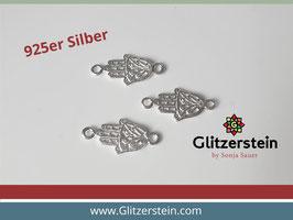 Schmuckverbinder Fatima Hand 925 Silber