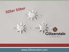 Schmuckverbinder Edelweiss 925 Silber