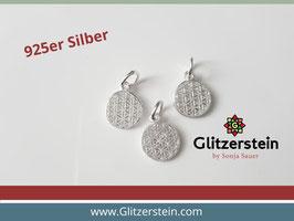 Anhänger Lebensblume Mini 925 Silber