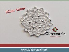 Schmuckverbinder Ornament 925 Silber gross