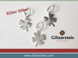 Anhänger Mini Kleeblatt 925 Silber