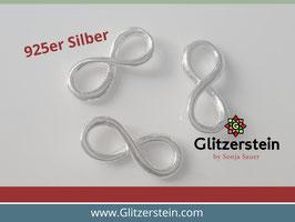 Schmuckverbinder Eternity 925 Silber