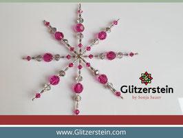 Sterne DIY-Set Fuchsia-Pink