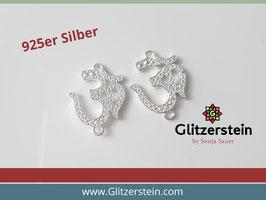 Schmuckverbinder Om 925 Silber
