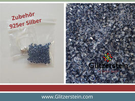 DIY Armband Basic Set Swarovski 4 mm (denim blue)