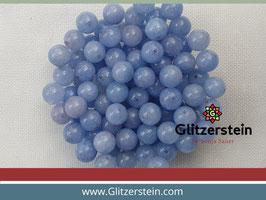 Farbgruppe 06/ Jade Box hellblau (18 Perlen in 8 mm/ gefärbt)