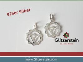 Anhänger 3. Chakra 925 Silber