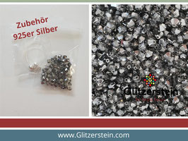DIY Armband Basic Set Swarovski 4 mm (crystal silver night)