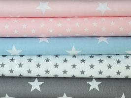 5er Stoffpaket Baumwolle Sterne Nr. 87