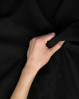 Dekostoff canvas schwarz Uni