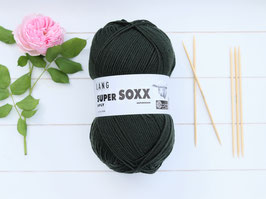 Sockenwolle Super SOXX dunkelgrün