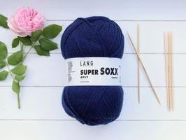 Sockenwolle Super SOXX königsblau
