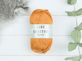 Baumwollgarn Quattro ocker 0075