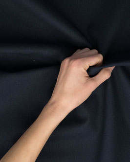 Dekostoff canvas dunkelblau Uni