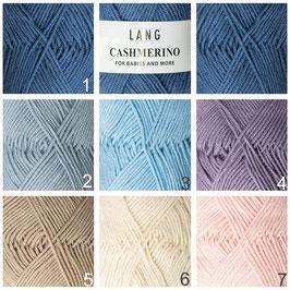 Strickwolle Cashmerino verschiedene Farben
