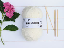 Sockenwolle Super SOXX wollweiß