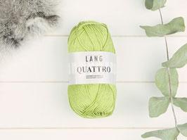 Baumwollgarn Quattro blassgrün 0016