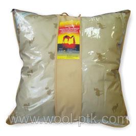 Подушка верблюжья шерсть 70х70 арт.005