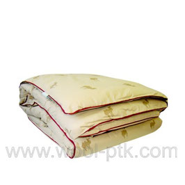 Одеяло из верблюжьей шерсти 140х205см арт.001