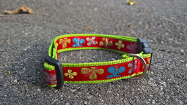 """Halsband mit Borde """"Schmetterling"""""""