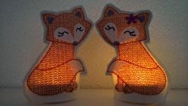 Nachtlicht LED Füchsin/Fuchs