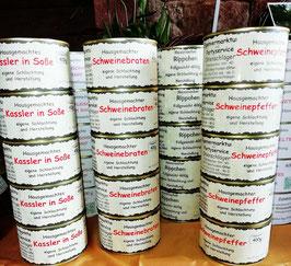 Fleischfertiggerichte 400 g Dose