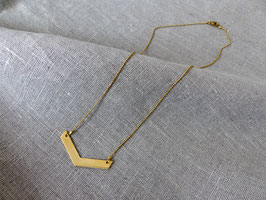 Halskette aus Messing