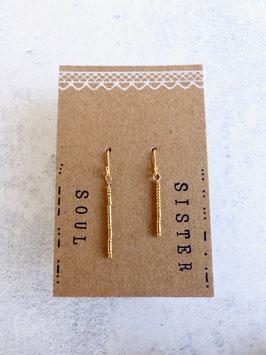 """Ohrhänger """"SOUL SISTER"""" mit Morsebuchstaben"""