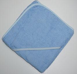 KAPUZENBADETUCH 80 X 80 CM blau mit Kapuze blau,  Motiv wählbar
