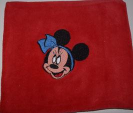 TRAUBENKERNKISSEN KLEIN rot mit Minnie Mouse