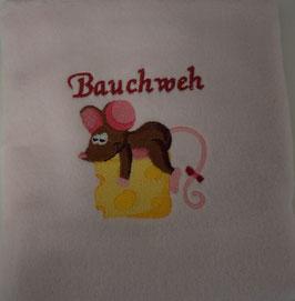 KIRSCHKERNKISSEN KLEIN rosa mit Bauchweh Müüsli