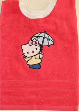 SCHLUPFLATZ klein pinkrot mit  Hello Kitty