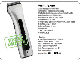 WAHL Beretto