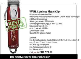 WAHL Cordless Magic Clip