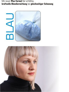 Blondierpulver blau 500g