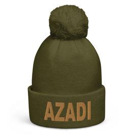 Azadi Mütze Bestickt